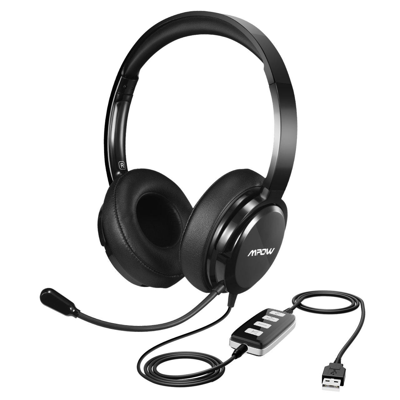 MPOW USB Skype headset